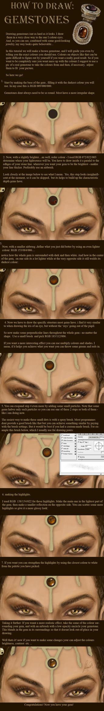 How to Draw: GEMSTONES by NightWish666