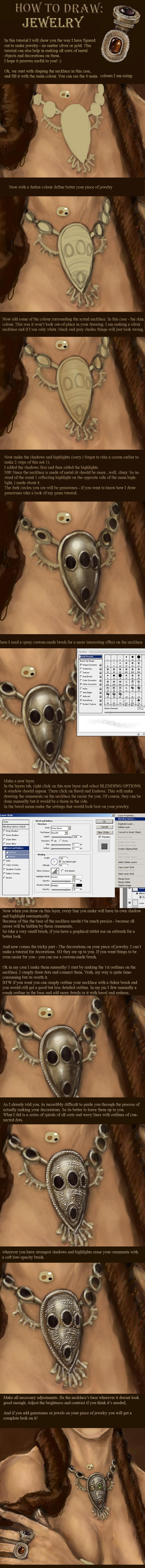 How to Draw: Jewelry by NightWish666
