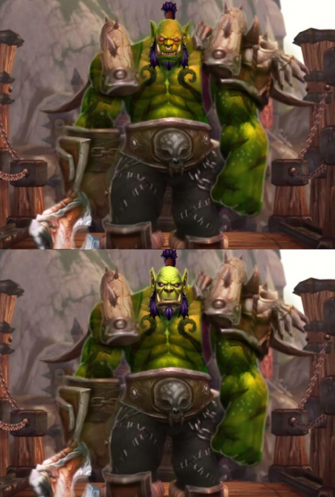 Orc Wow New Model New Orc Model - Keep t...