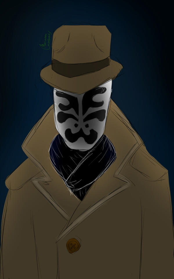 Rorscharch - Watchmen by Rayomacuin88