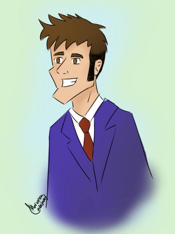 Adorkabubble AKA The 10th Doctor by Rayomacuin88