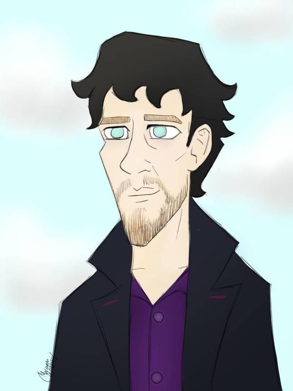 Scruffy Sherlock by Rayomacuin88