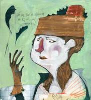 thinker by flaviafou
