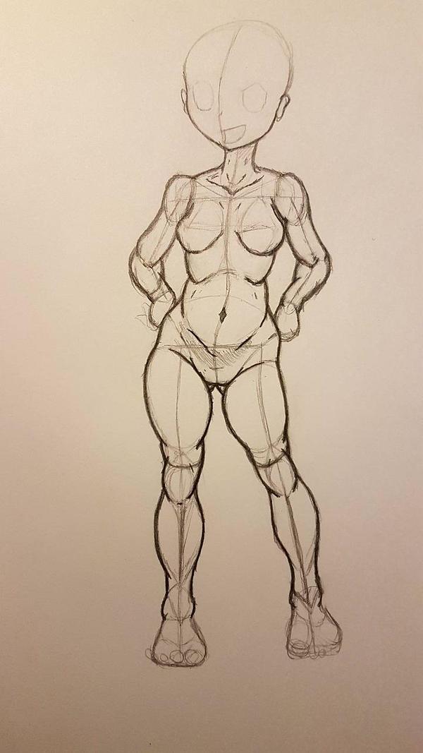 Anatomy study: female 2 by ArtPonyMDP