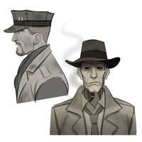 Fallout Companion Doodles. by friendlypapaya