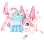 Froakie and Sylveon