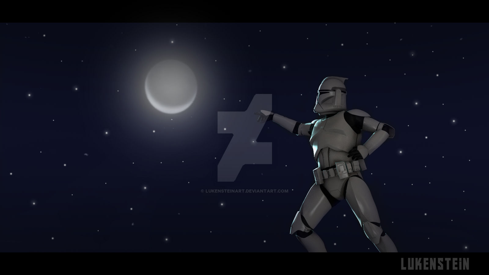 clone trooper  starwars fan art wallpaper by lukensteinart dcl89q3
