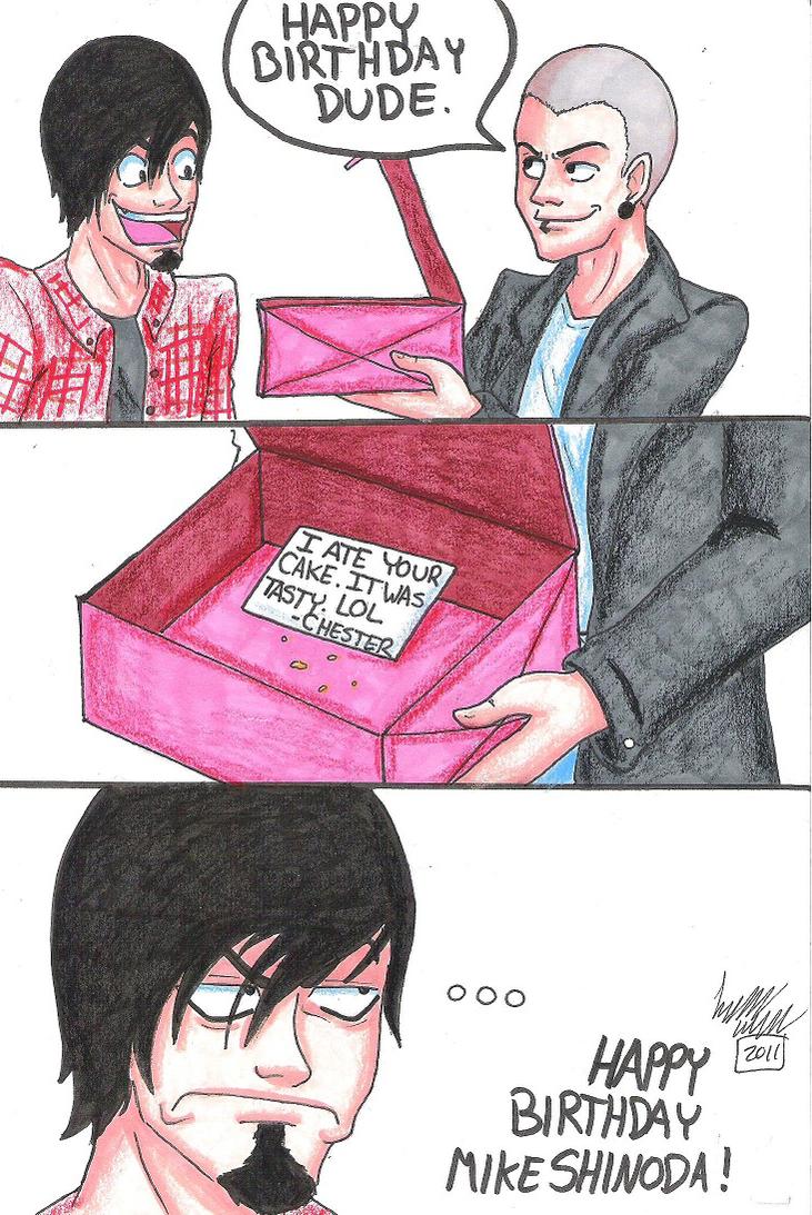 Happy Birthday Mike Shinoda by LlovesHalo