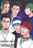 Linkin Park Meteora by LlovesHalo
