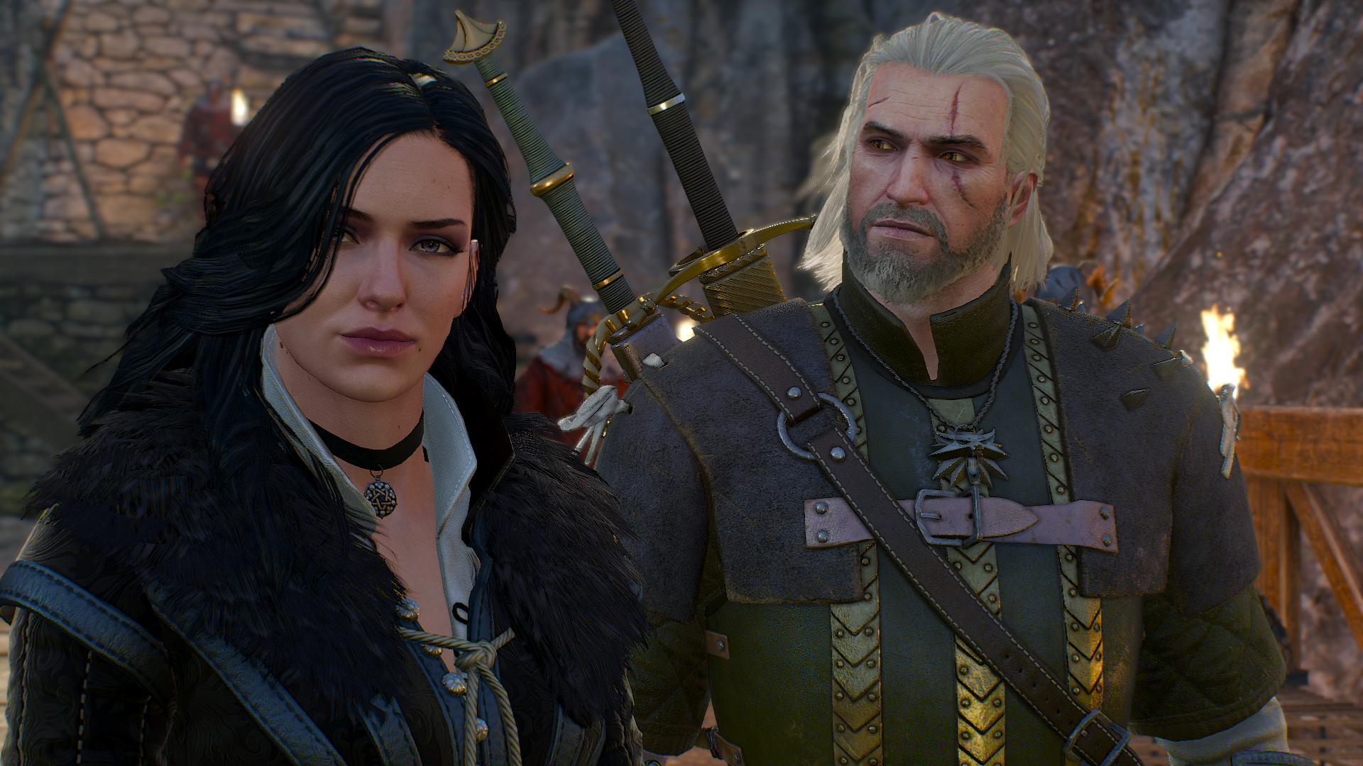 geralt and yennefer by - photo #18