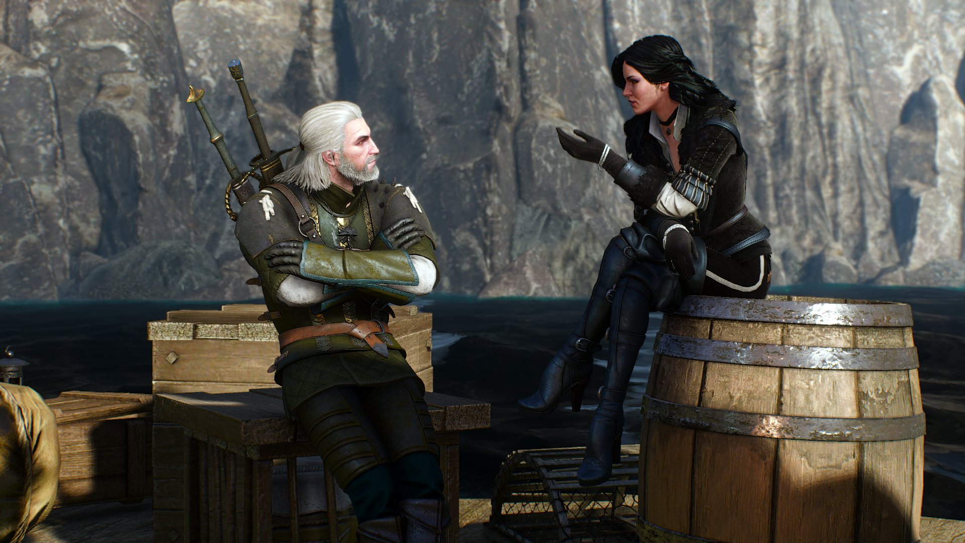 geralt and yennefer by - photo #3
