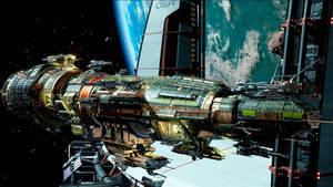 Fractured Space - USR Destroyer
