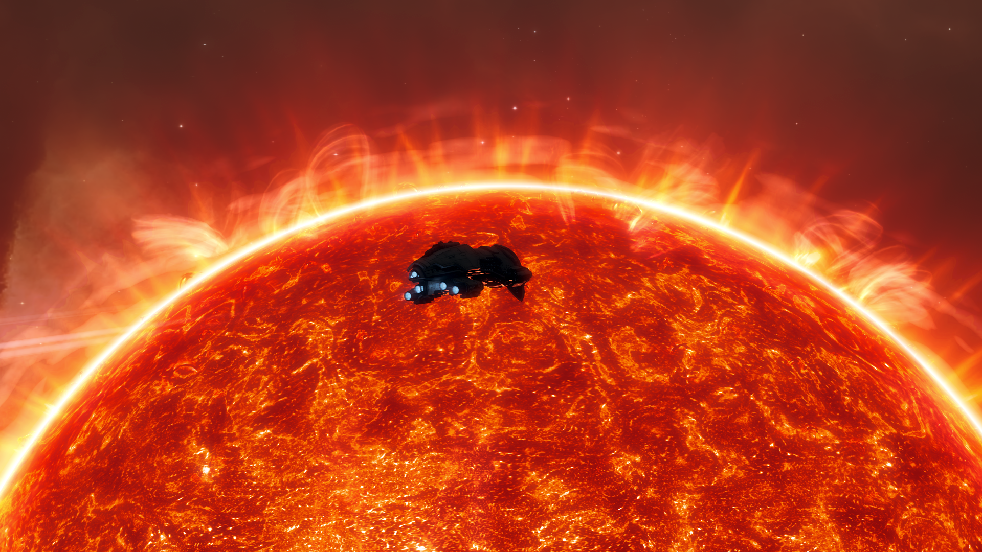 Eve Online - Red Giant by Vollhov
