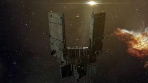 Eve Online - Keepstar Red Phoenix