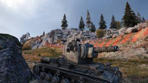 World of tanks: A Ragnarok battle tank