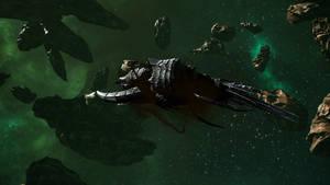 Battlefleet Gothic: Armada 2 - Tyranid Ouroboros by Vollhov