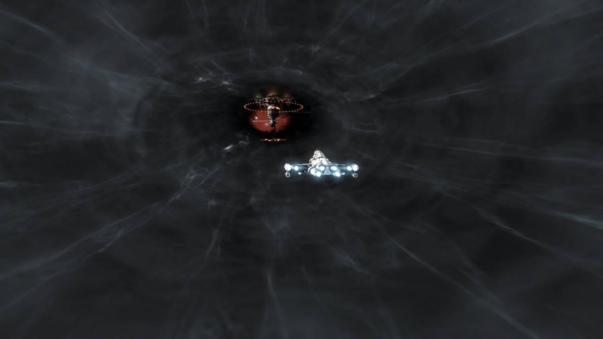 Eve Online - Warp in station by Vollhov on DeviantArt