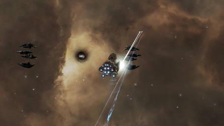 Eve Online - Purist vs Drifter cruiser