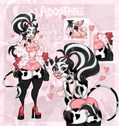 [Open] Curvy Cow Adopt Auction   Depresenya
