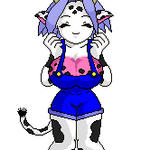Bouncing Demigirl - Cattelina by blackmage20