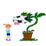 Cow Plant Vore by blackmage20 on DeviantArt
