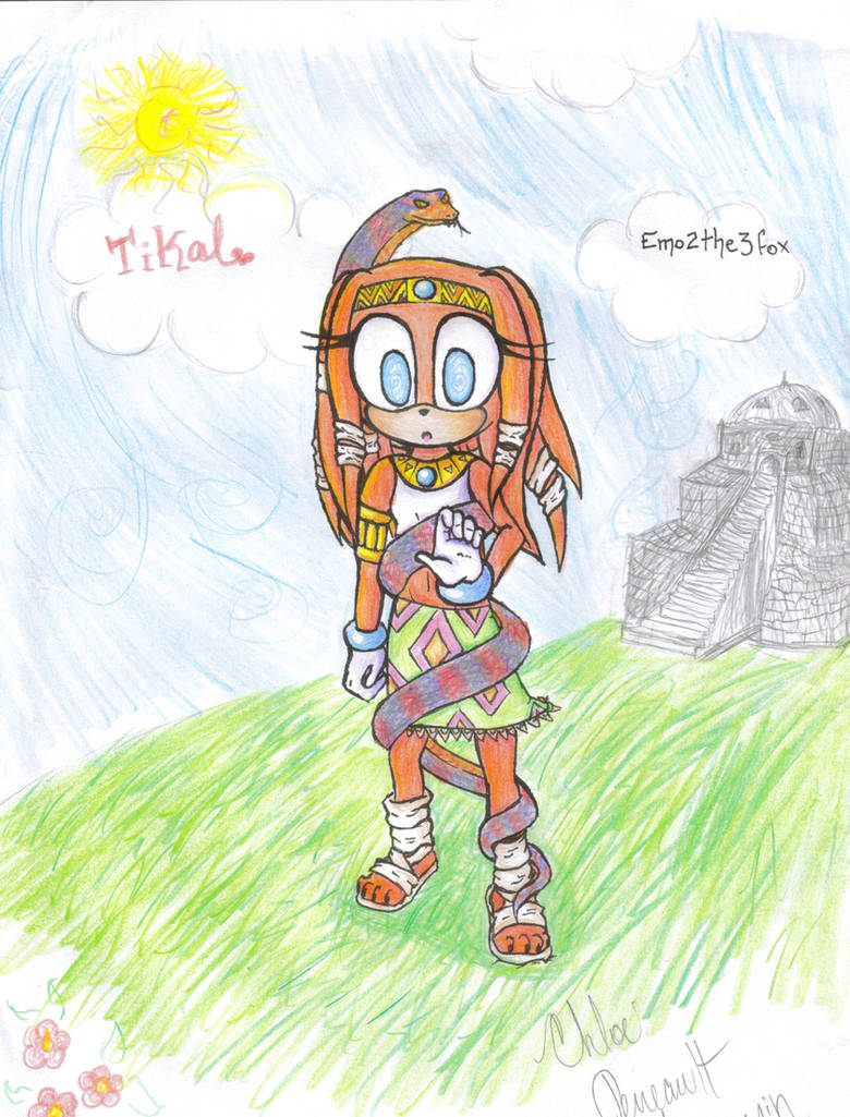 commission: Tikal Hypnotized by a snake by Cthulhuhu on