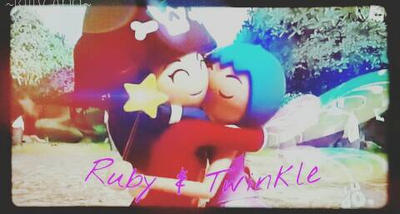 My first super 4 edit ever- Ruby and Twinkle. Yush by Kittyana120452