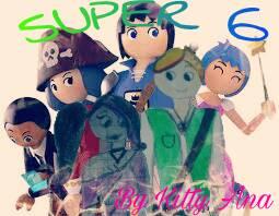 Super 6 by Kittyana120452