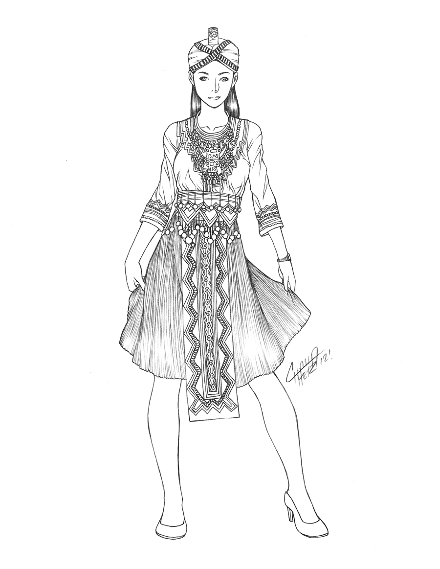 Hmong Dress Designs