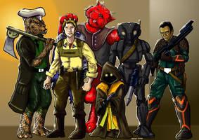 The Crew of the Bad Example by KhairulHisham