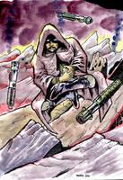 Kieta Bayurn, Jedi Knight by KhairulHisham