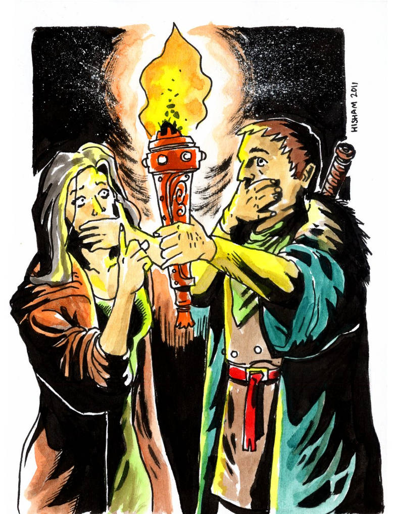 D6 Mag 2: Oversensitive Torch