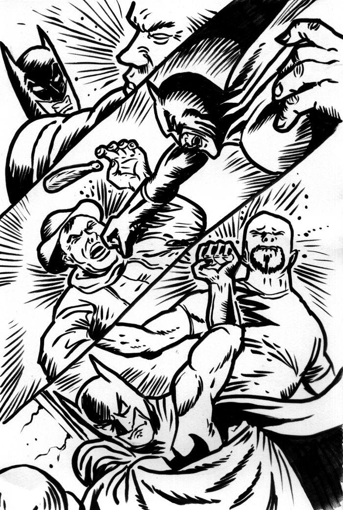Batman Punches