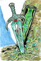 Sword of Vegetation by KhairulHisham