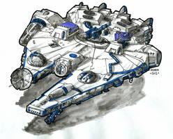 Modified Corellian YV-545 by KhairulHisham