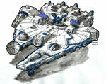 Modified Corellian YV-545