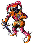Lucurio the Red Jester by KhairulHisham