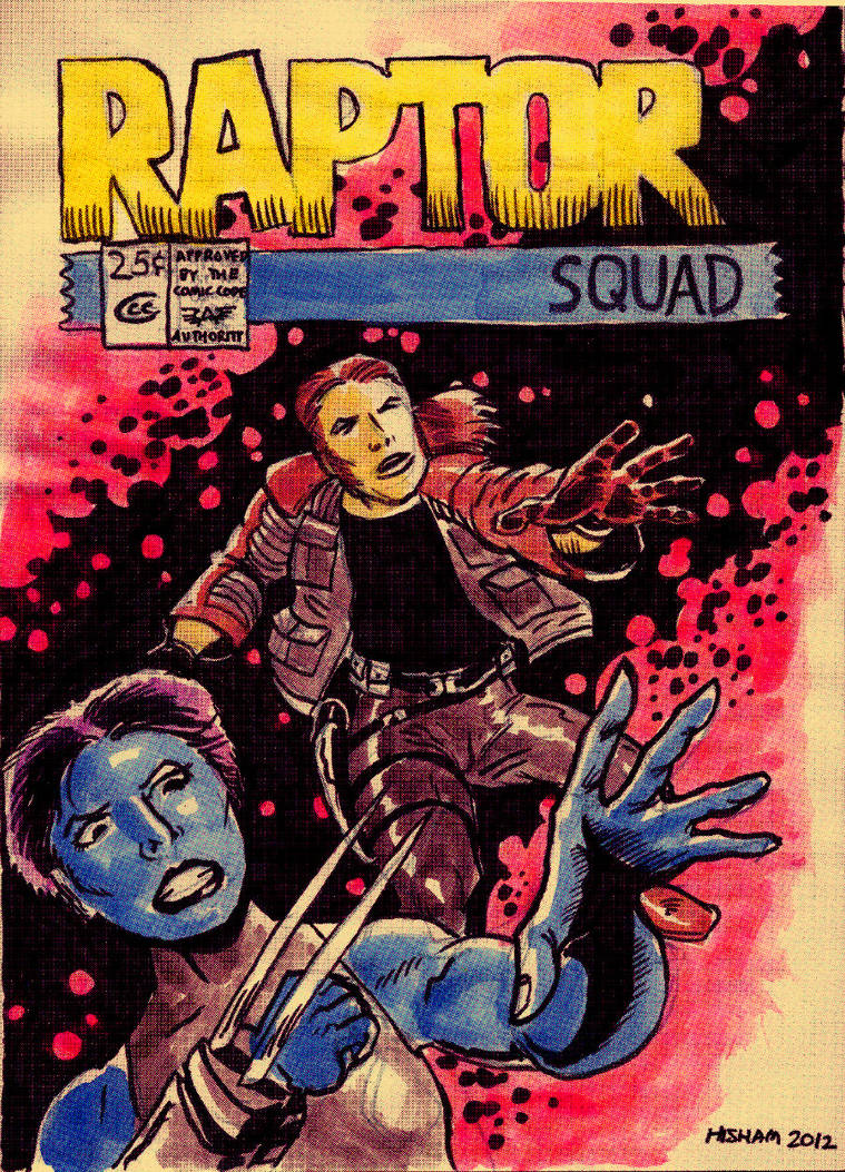 Raptor Squad Cover 1