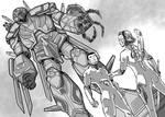 Mecha RPG: Crimson Guardsmen by KhairulHisham