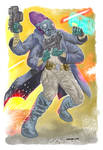 Pono Waniri, Morseerian Soldier by KhairulHisham