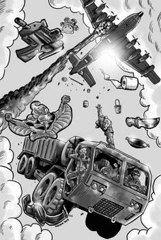 Covert Ops: Not Very A Covert Truck Ride