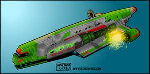 Gozanti Cruiser Blast