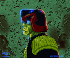 Judge Dredd by KhairulHisham