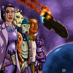 FrontierSpace: Dark Side of Loridian cover