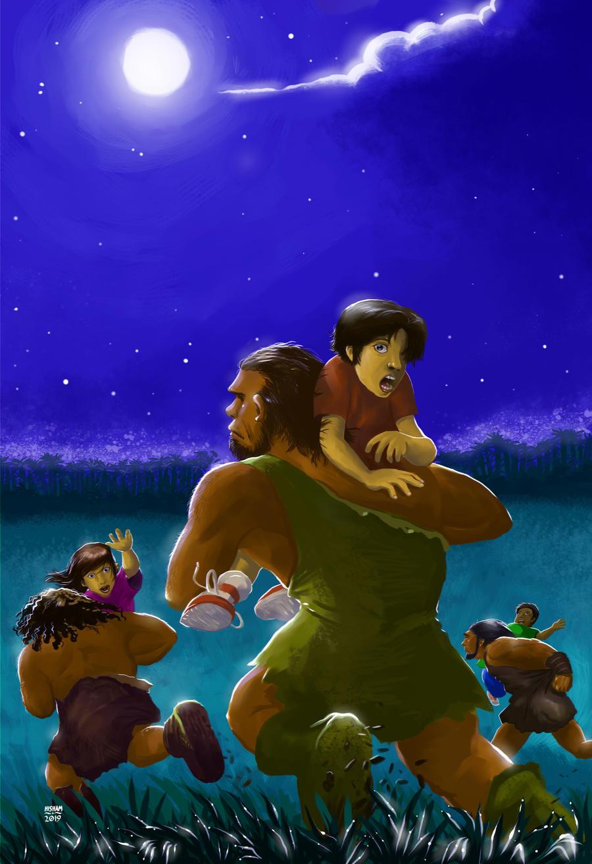 Cover Art: Return of the Undead Cavemen