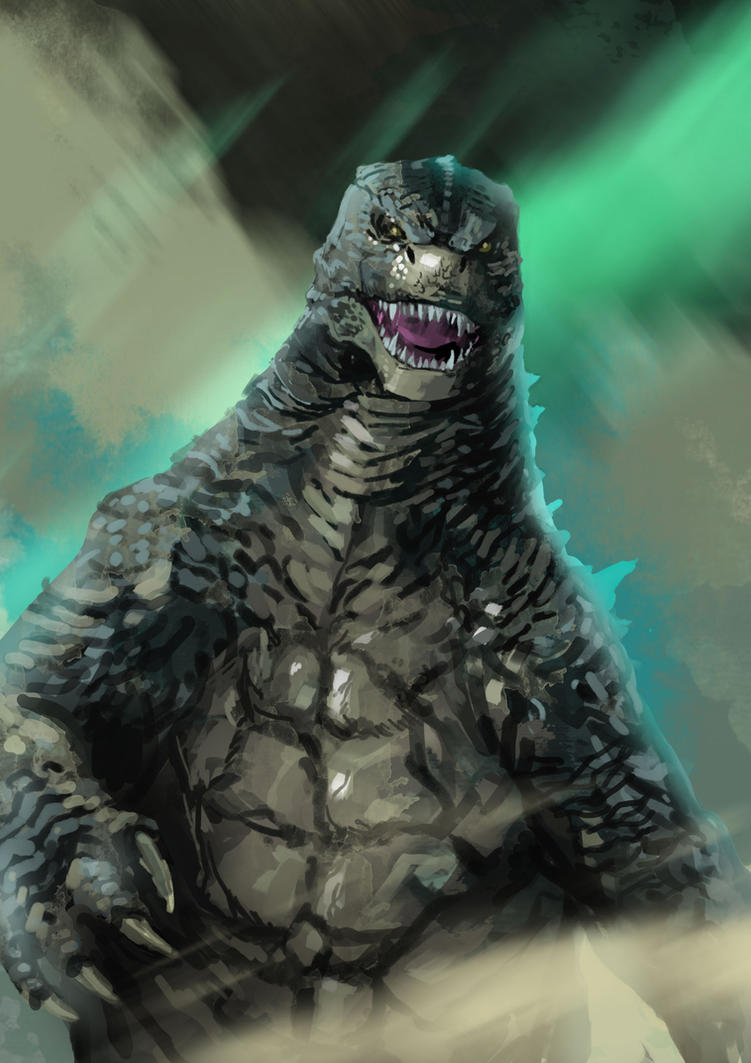 Godzilla by ikuyoan