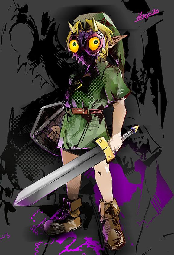 The Legend of Zelda: Majora's Mas by ikuyoan