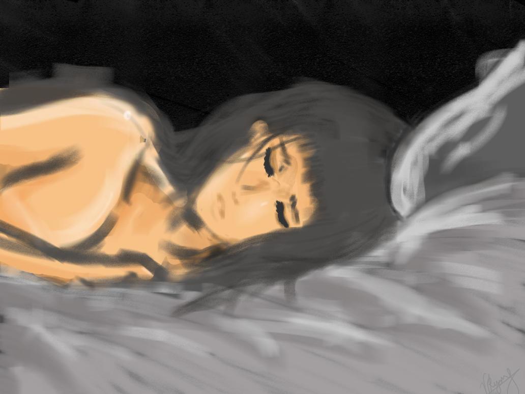 Sleep her demons away by DenAltVega