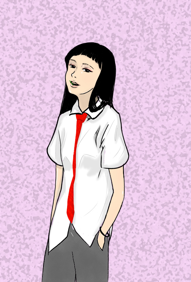 School girl by DenAltVega
