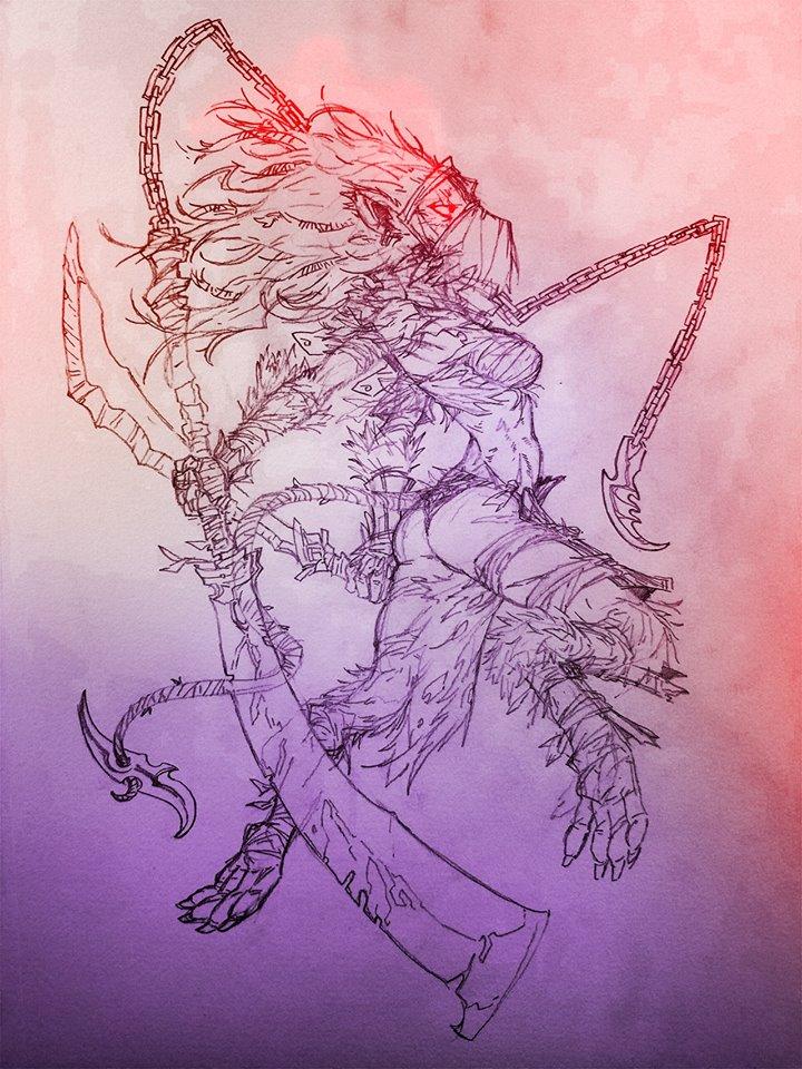 Ink-Eyes, Servant of Oni by Jipeto